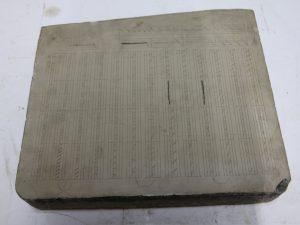11 x 14 Litho Stone