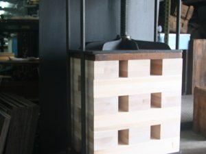 Blocks - build up your book press