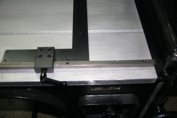 Aluminum top for John Jacques board shear