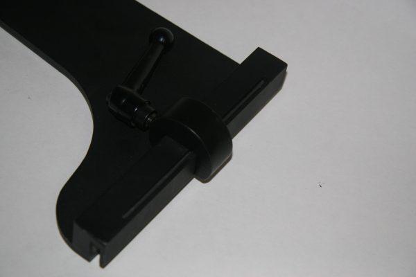 metal top back gauge